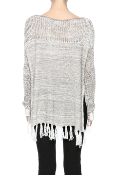 Two Chic Luxe Fringe Spring Sweater - Alternate List Image