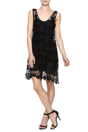Two Chic Luxe Lace Lined Dress - Front full body