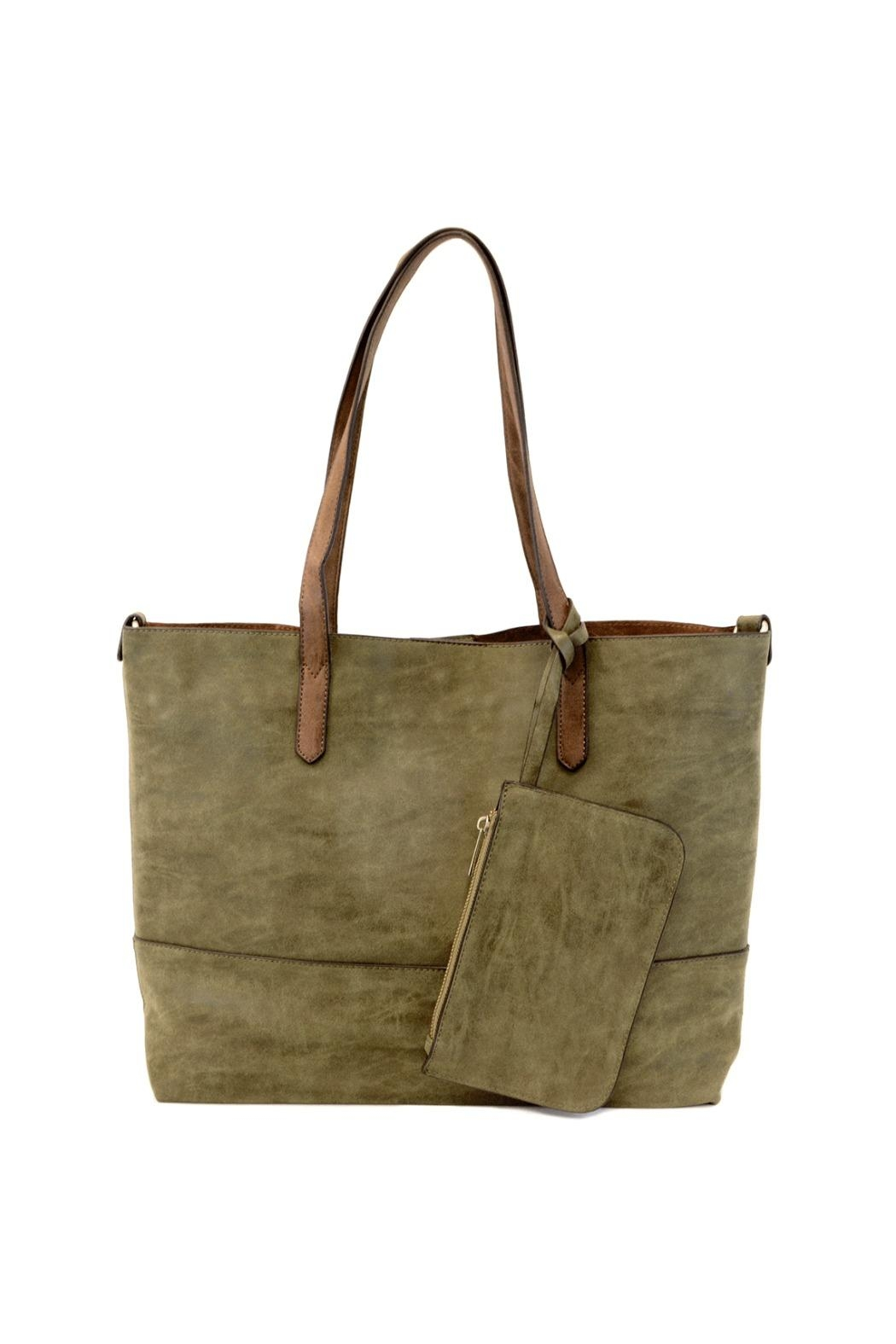 Joy Accessories Two-In-One Tote - Front Cropped Image