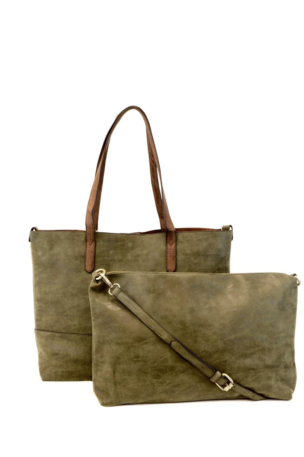 Joy Accessories Two-In-One Tote - Side Cropped Image