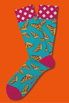 Shoptiques Product: Two Left Feet 5th Edition Socks Open Stock-Unisex-Pizza