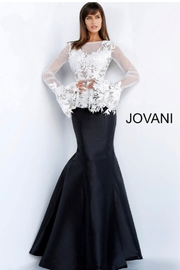 JOVANI FASHIONS TWO PC ORGANZA GOWN - Product Mini Image