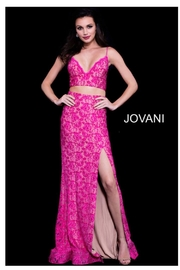 Jovani Two Piece Gown - Product Mini Image
