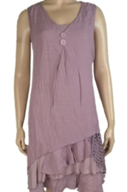 KIMBALS TWO-PIECE MAUVE DRESS - Product Mini Image