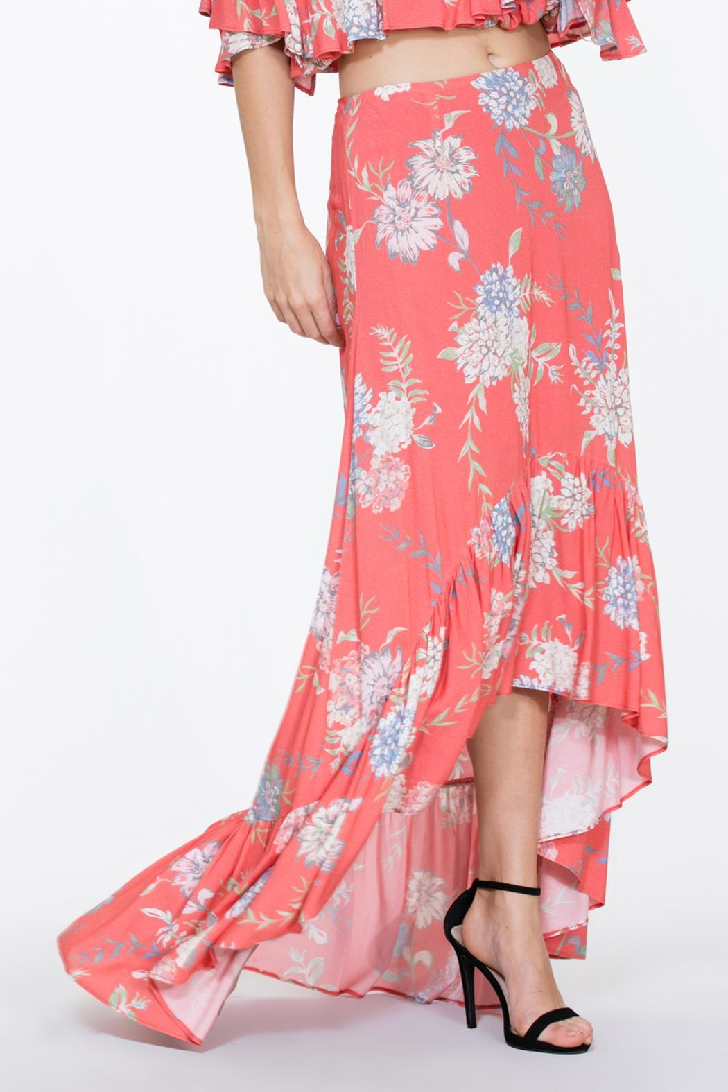 The Room Two Piece Maxi - Side Cropped Image
