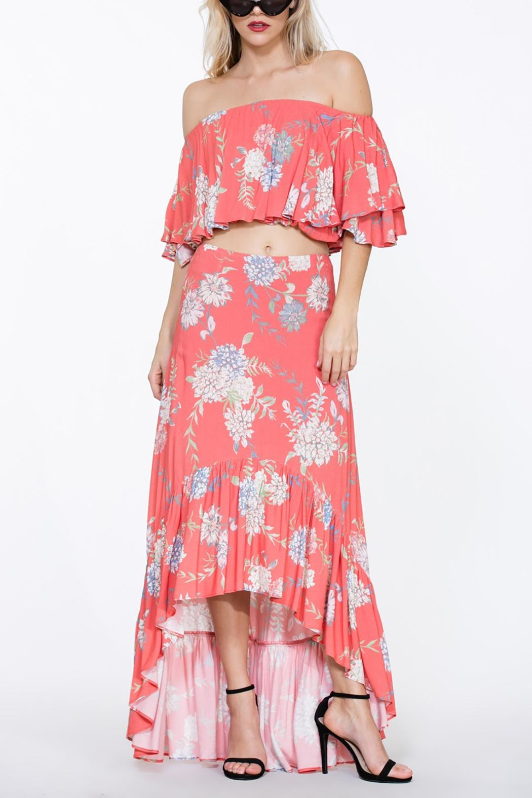 The Room Two Piece Maxi - Front Full Image