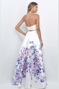 Blush Two-piece Prom Gown - Alternate List Image