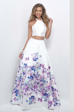 Blush Two-piece Prom Gown - Product List Image