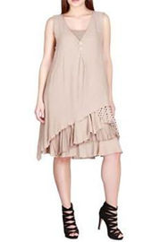 KIMBALS TWO-PIECE BEIGE DRESS - Product Mini Image