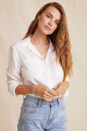 Bella Dahl  Two Pocket Classic Button Down - Product Mini Image