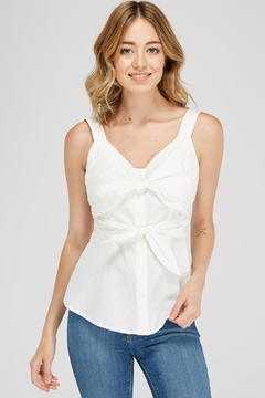 Shoptiques Product: Two Ribbon-Tie Top