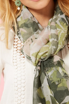 Shoptiques Product: Army Printed Scarf
