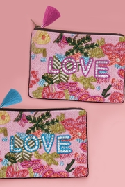 Two's Beaded Love Bag - Product Mini Image