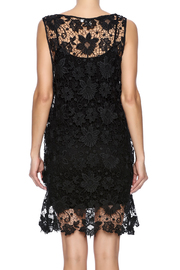 Two's Company Black Lace Dress - Back cropped