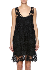 Two's Company Black Lace Dress - Side cropped