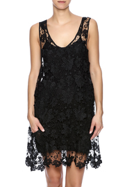 Two's Company Black Lace Dress - Front cropped