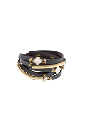 Two's Company Double Wrap Bracelet - Product Mini Image