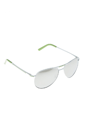 Two's Company Mirrored Sunglasses - Front cropped