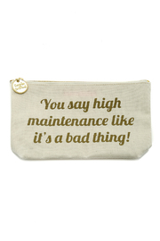 Two's Company High Maintenance Pouch - Front cropped