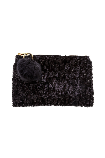 Two's Company Sequined Clutch - Main Image