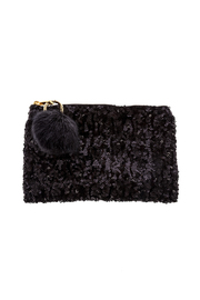 Two's Company Sequined Clutch - Product Mini Image