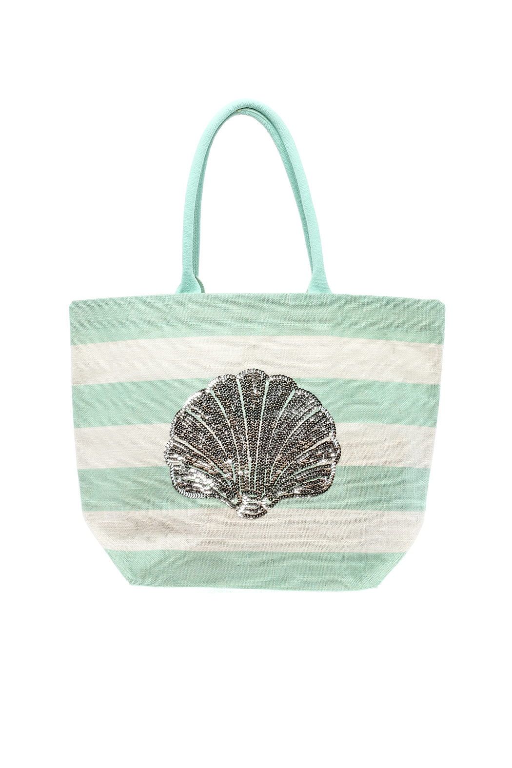 85ea392fd4 Two's Company Shell Beach Bag from Queens by Girlfriends — Shoptiques