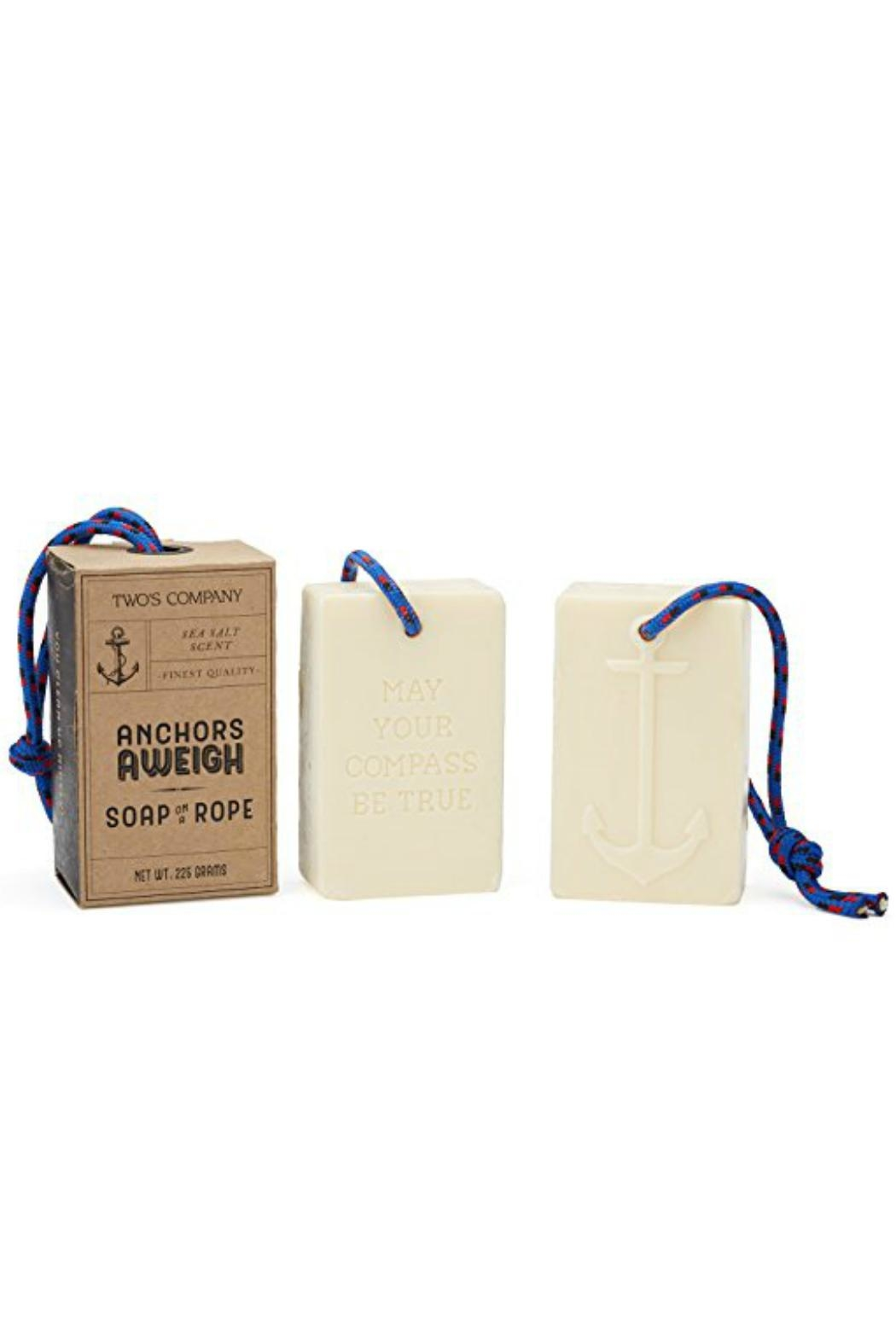 Two's Company Anchor Rope Soap - Main Image