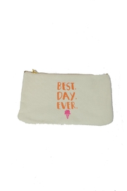 Two's Company Best Day Ever Pouch - Front cropped