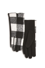 Two's Company Buffalo Plaid Gloves - Product Mini Image