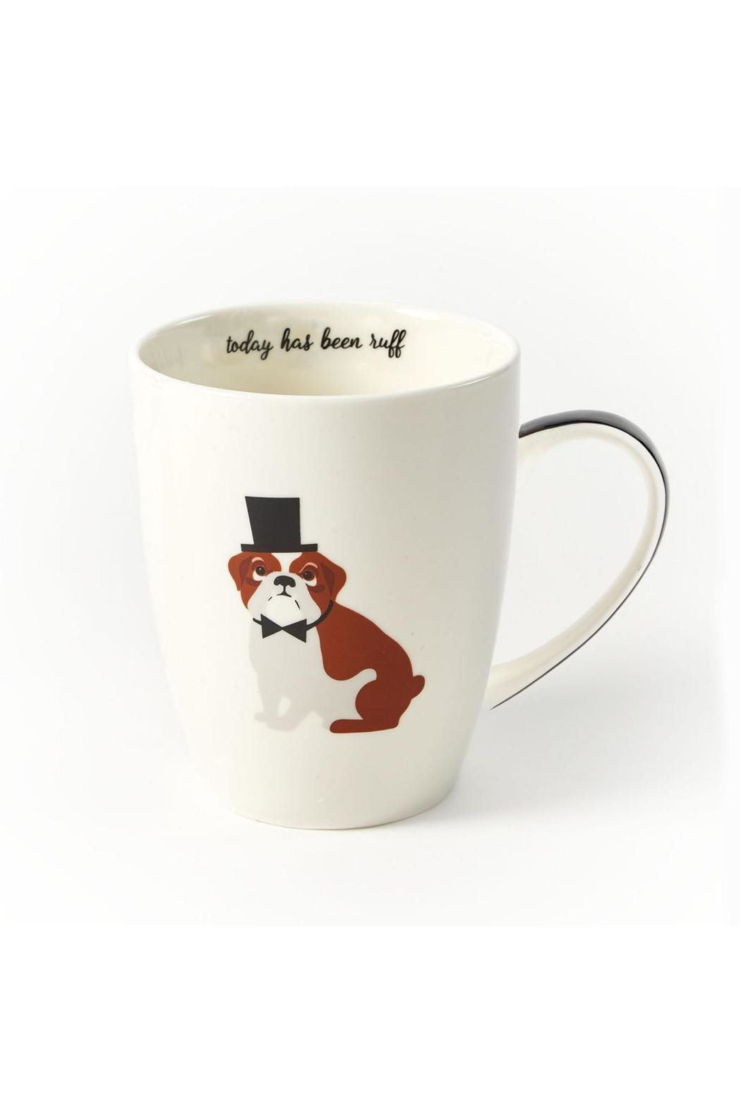 Two's Company Bulldog Mug - Main Image