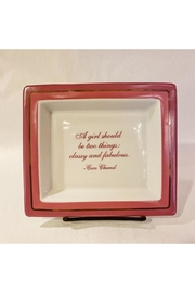Two's Company Coco Chanel Trinket Tray - Product Mini Image