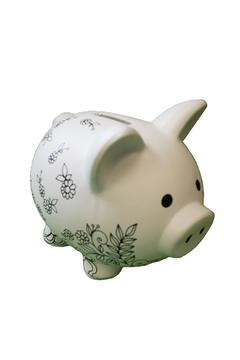Two's Company Color-Me Piggy Bank - Product List Image