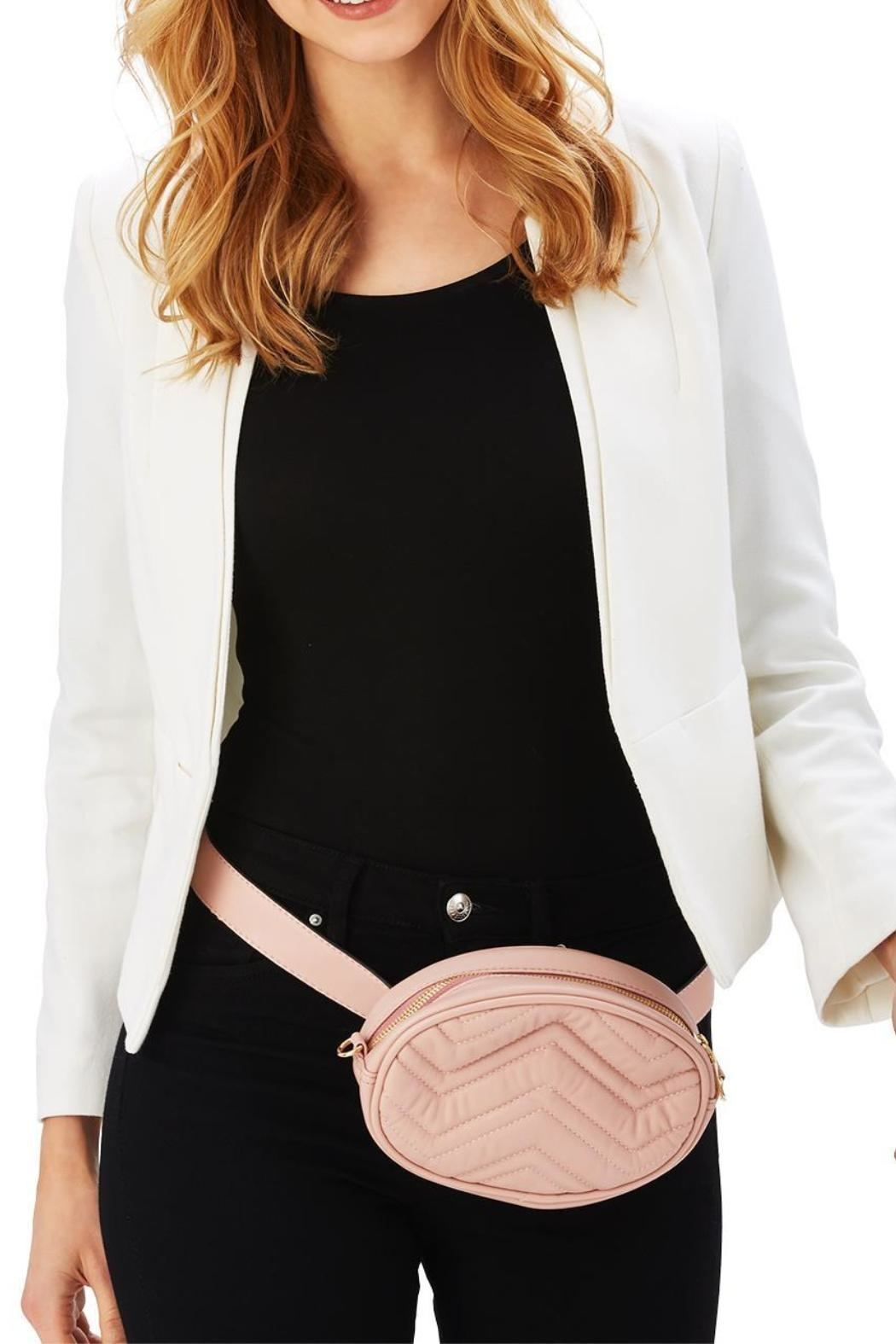 Two's Company Convertible Belt Bag - Back Cropped Image