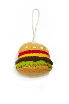 Two's Company Hamburger Ornament - Product List Image