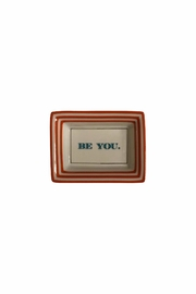 Two's Company Inspirational Trinket Tray - Front cropped