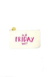 Two's Company Friday Pouch - Front cropped