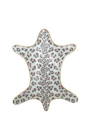 Two's Company Leopard Trinket Dish - Front cropped