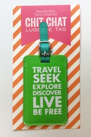 Two's Company Luggage Tag - Front cropped