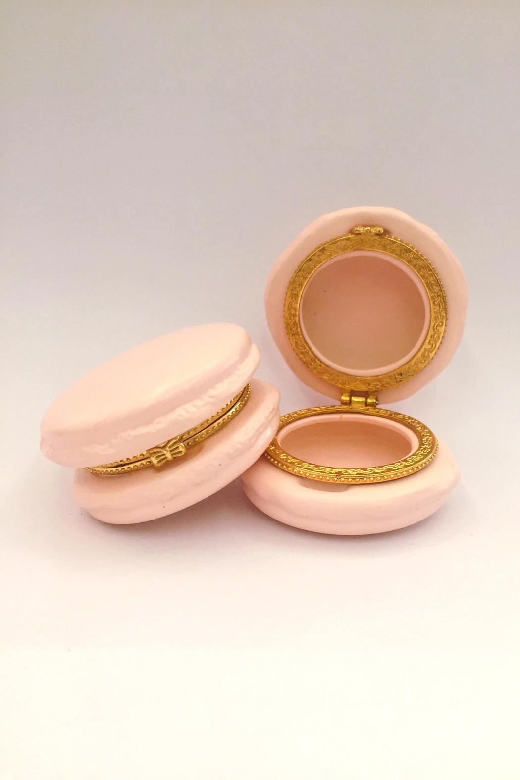 Two's Company Macaron Trinket Boxes - Front Full Image