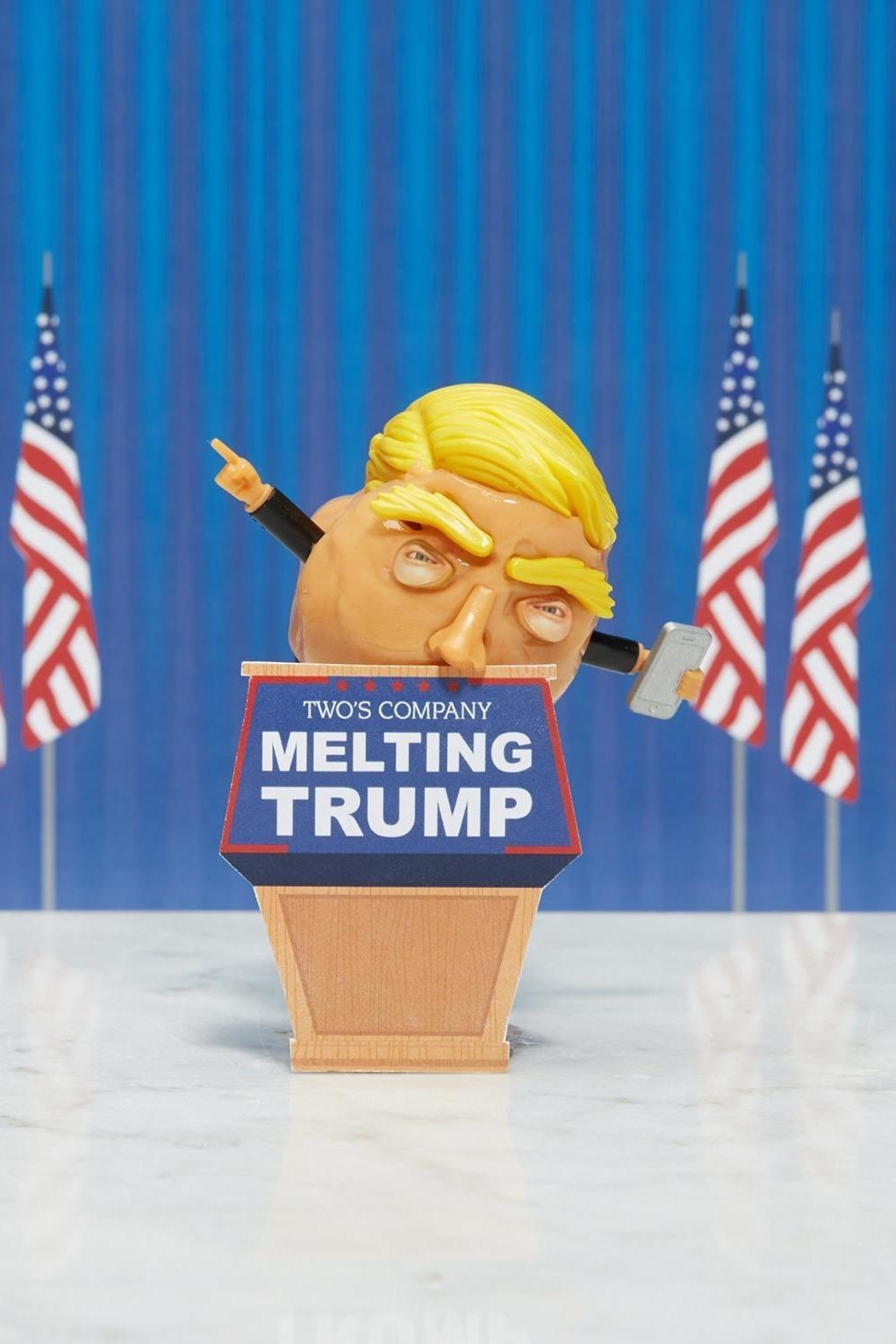 Two's Company Melting Trump Putty - Back Cropped Image
