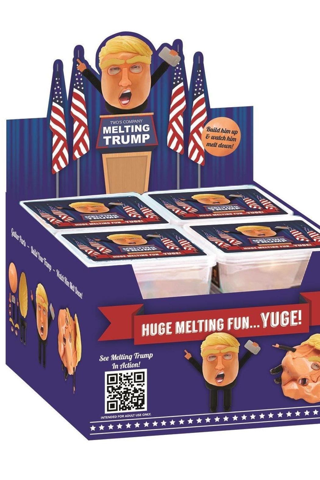 Two's Company Melting Trump Putty - Front Full Image