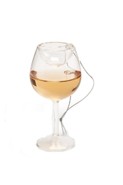 Two's Company Mini Wine Ornament - Product Mini Image