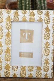Two's Company Pineapple Photo Frame - Front cropped