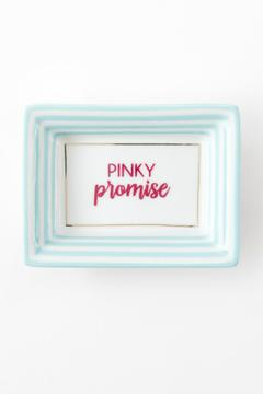 Two's Company Pinky Promise Tray - Alternate List Image