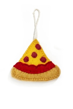Two's Company Pizza Ornament - Product List Image