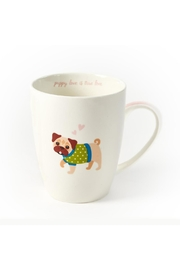 Two's Company Pug Mug - Front cropped