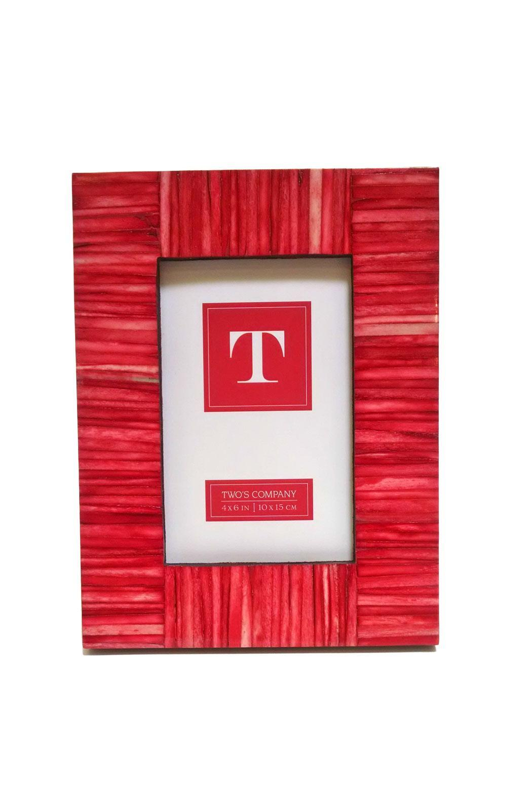 Two's Company Riviera Photo Frame - Front Cropped Image