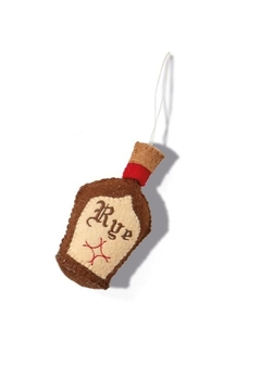 Two's Company Rye Bottle Ornament - Alternate List Image