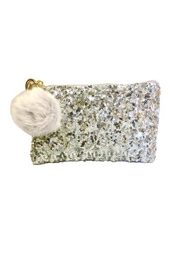 Two's Company Sequin Makeup Bag - Alternate List Image