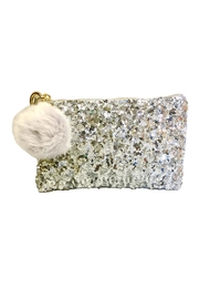 Two's Company Sequin Makeup Bag - Product Mini Image